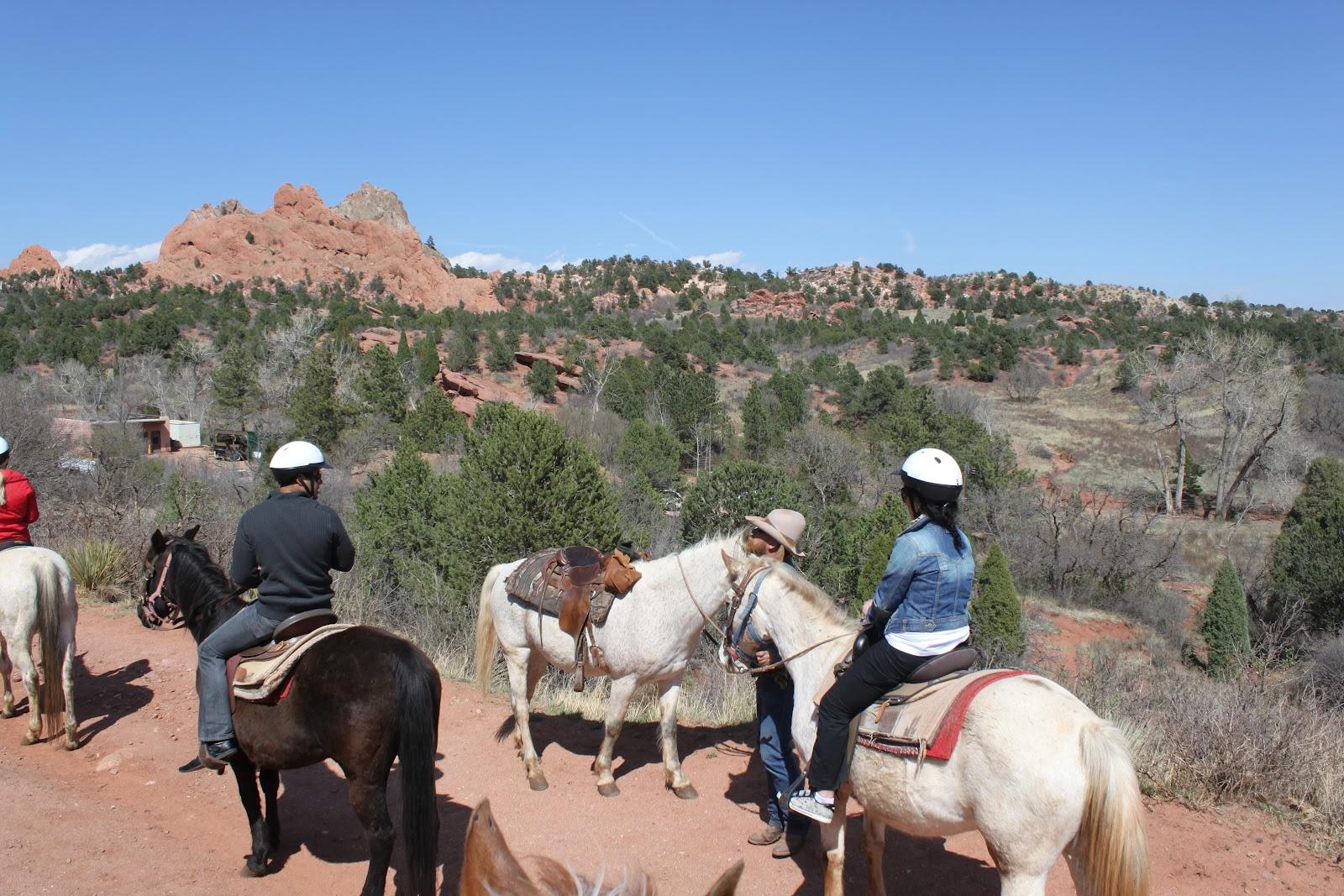 Horseback riding in garden of the gods butterfly in norway for Garden of the gods horseback riding