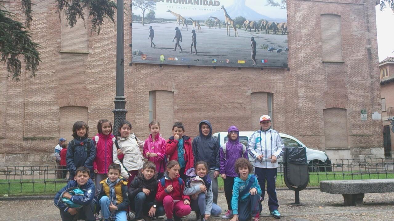 El blog de infantil del santa ana visita a alcal de for Muebles ana mari alcala de henares