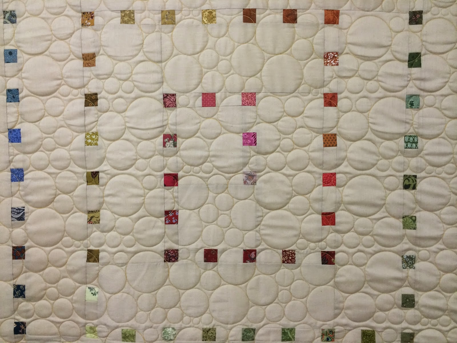 Jill Seward Rainbow Small Squares Quilt