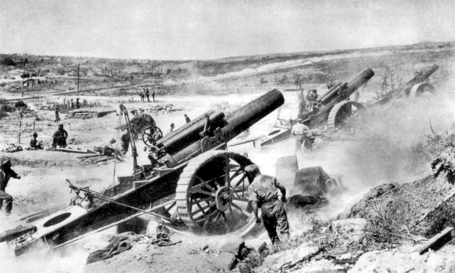 Artillery in WW1 / WW2 wargaming | THE WARGAMING SITE