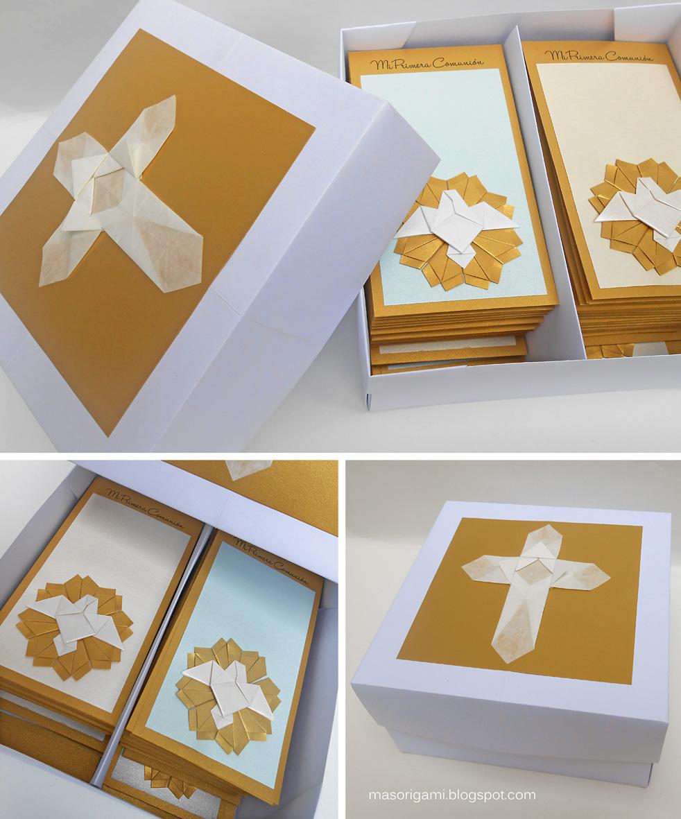 mas origami: Estampas de Comunión para Marco