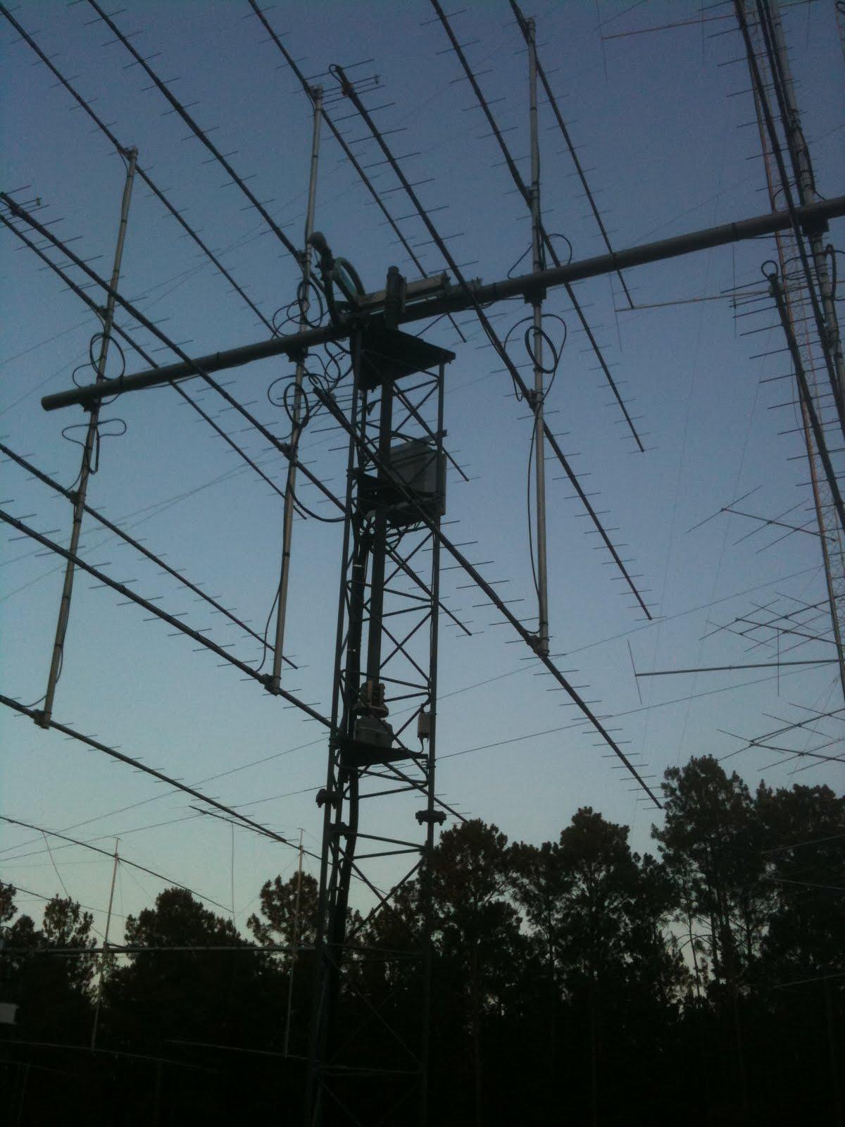 Bill N5YA's HF contest station & Marshall K5QE Vhf/UHF