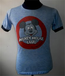 Vintage Mickey Mouse ringer