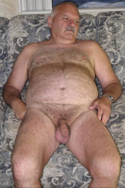 Gay Naked Grandpa Old Silver