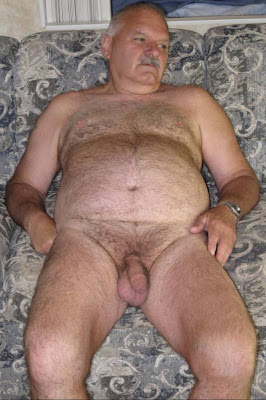 big gay hairy men - silver hairy matures - hot gay grandpa