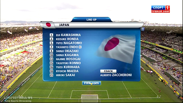 Copa Confederaciones 2013 - Japan vs Mexico