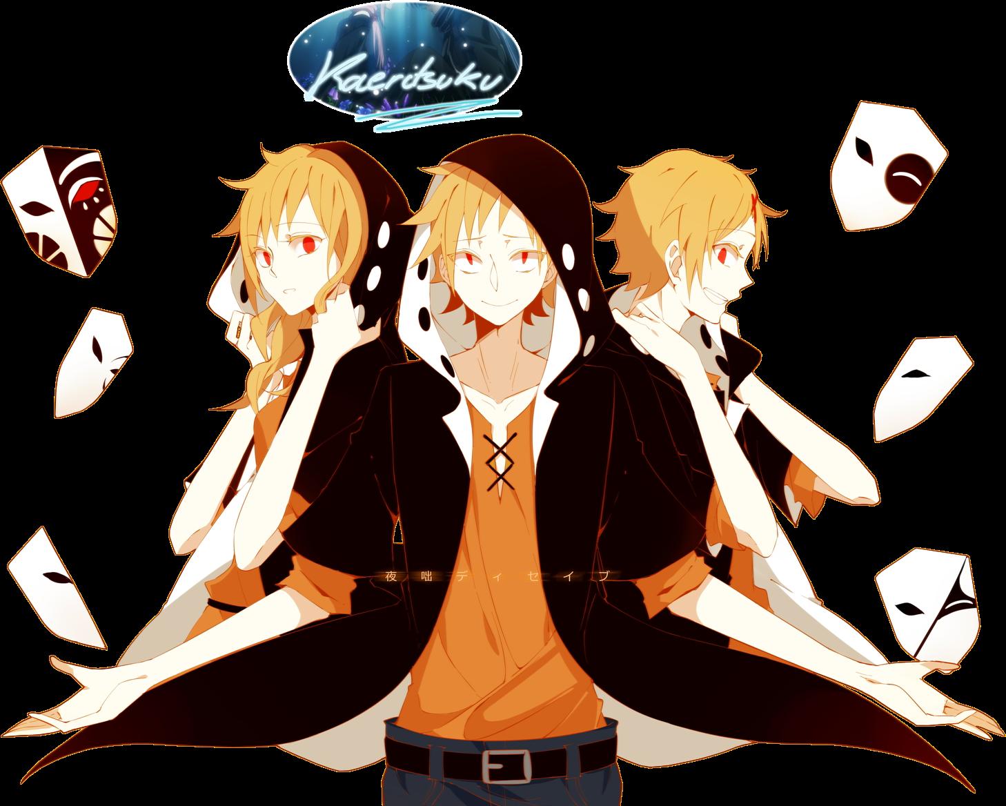 Renders anime KagerouProjectShuuyaKanofull