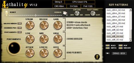 VST de Guitarra Elétrica Lethality