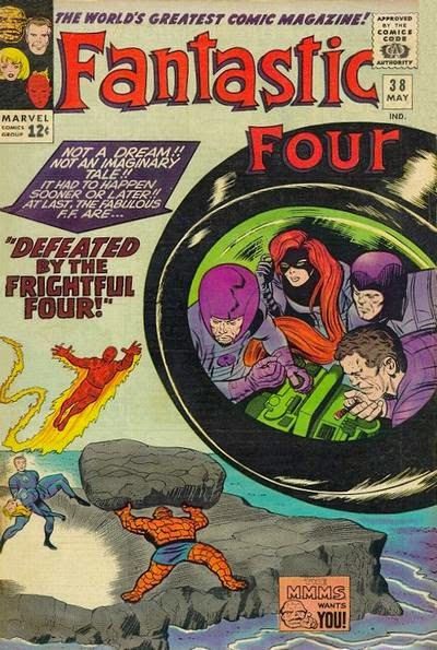 Fantastic Four #38, Frightful Four