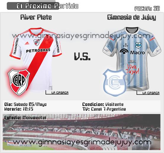 Fecha 32: River Plate vs Gimnasia de Jujuy