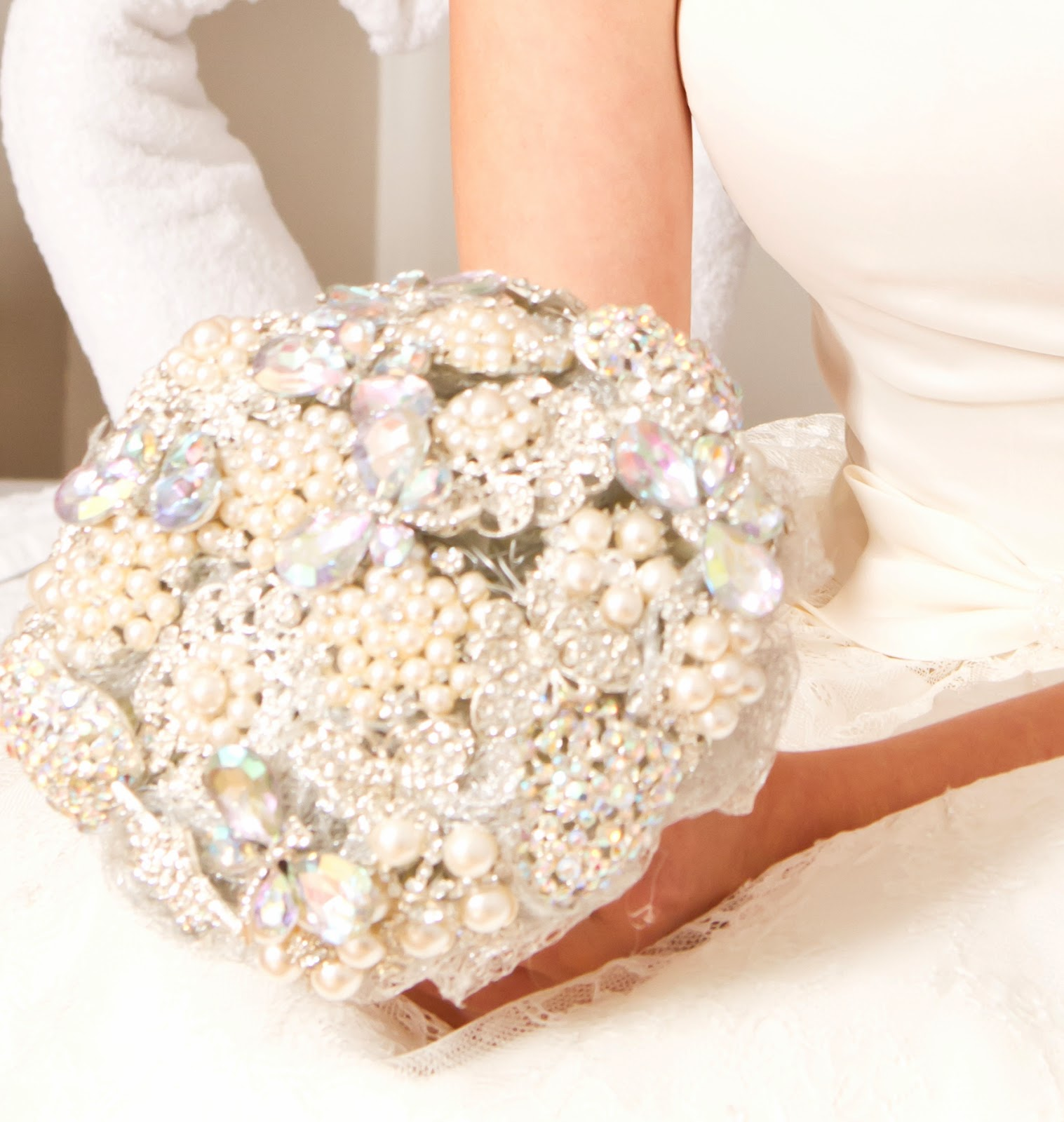 Kays Flower School Brooch Bouquet Training February 2014