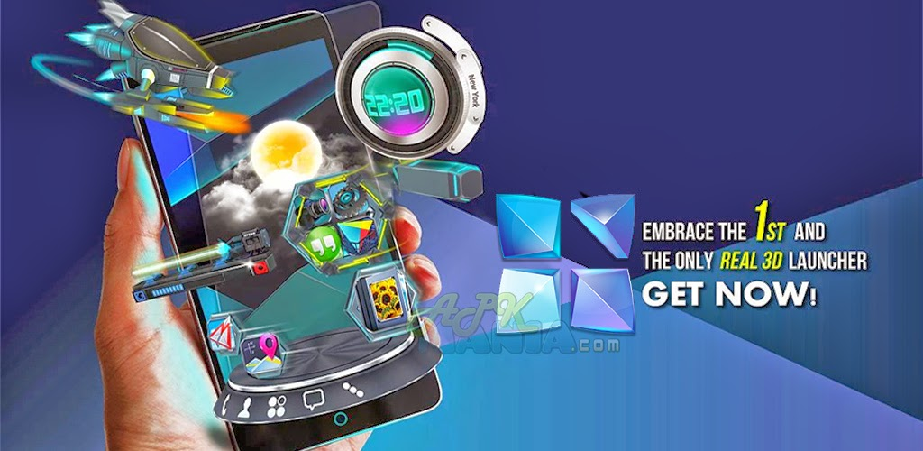 Download Next Launcher 3D Shell v3.09 APK