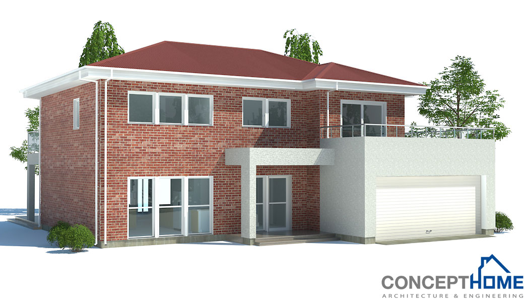 contemporary house plans modern house ch171