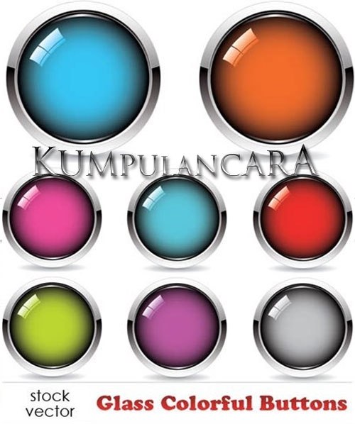 Glass Colorful Buttons download
