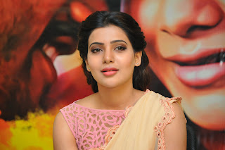Actress Samantha Latest Pictures in Saree at Manam Movie Promotion 15