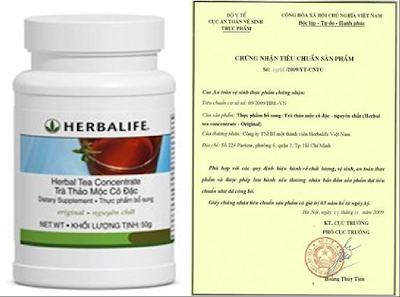 Herbal Tea Concentrate – Original trà Herbalife giảm cân