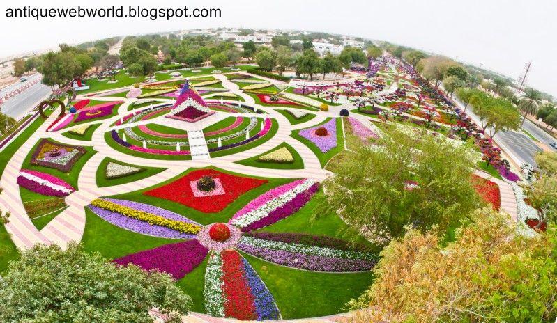 Antique Web World Beautiful Flower Garden