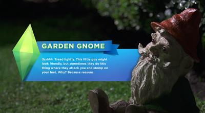 [Noticias]24 pistas - Trailer lanzamiento Los Sims 4 Gnomo+de+jardin+magico