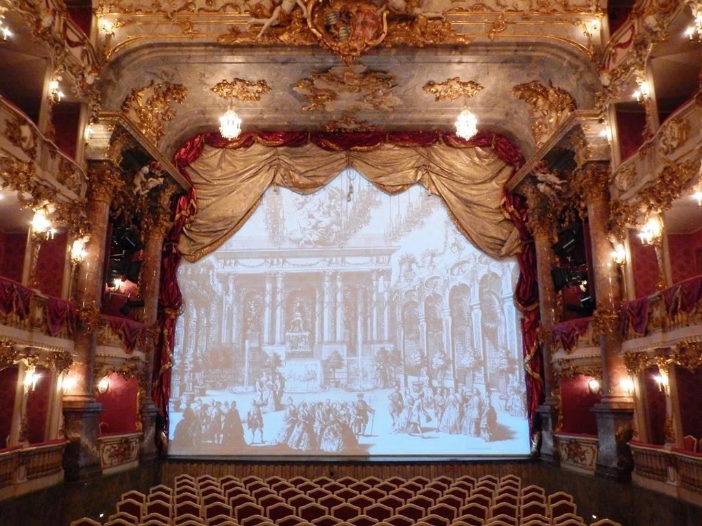 Cuvilliés Theatre Munich stage