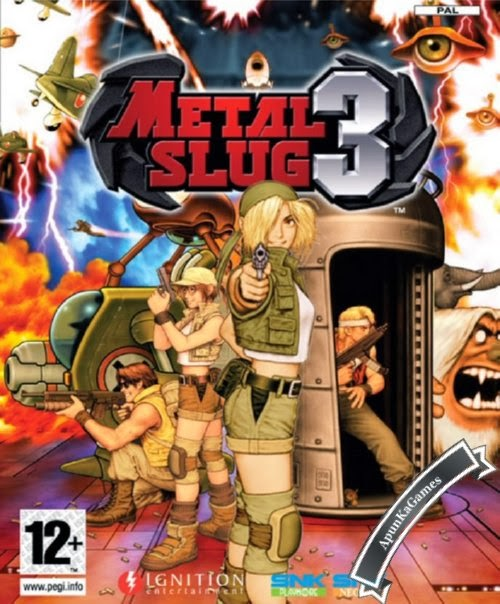 Metal Slug 3 Cover, Poster