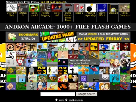 andkon 1000 free games action games