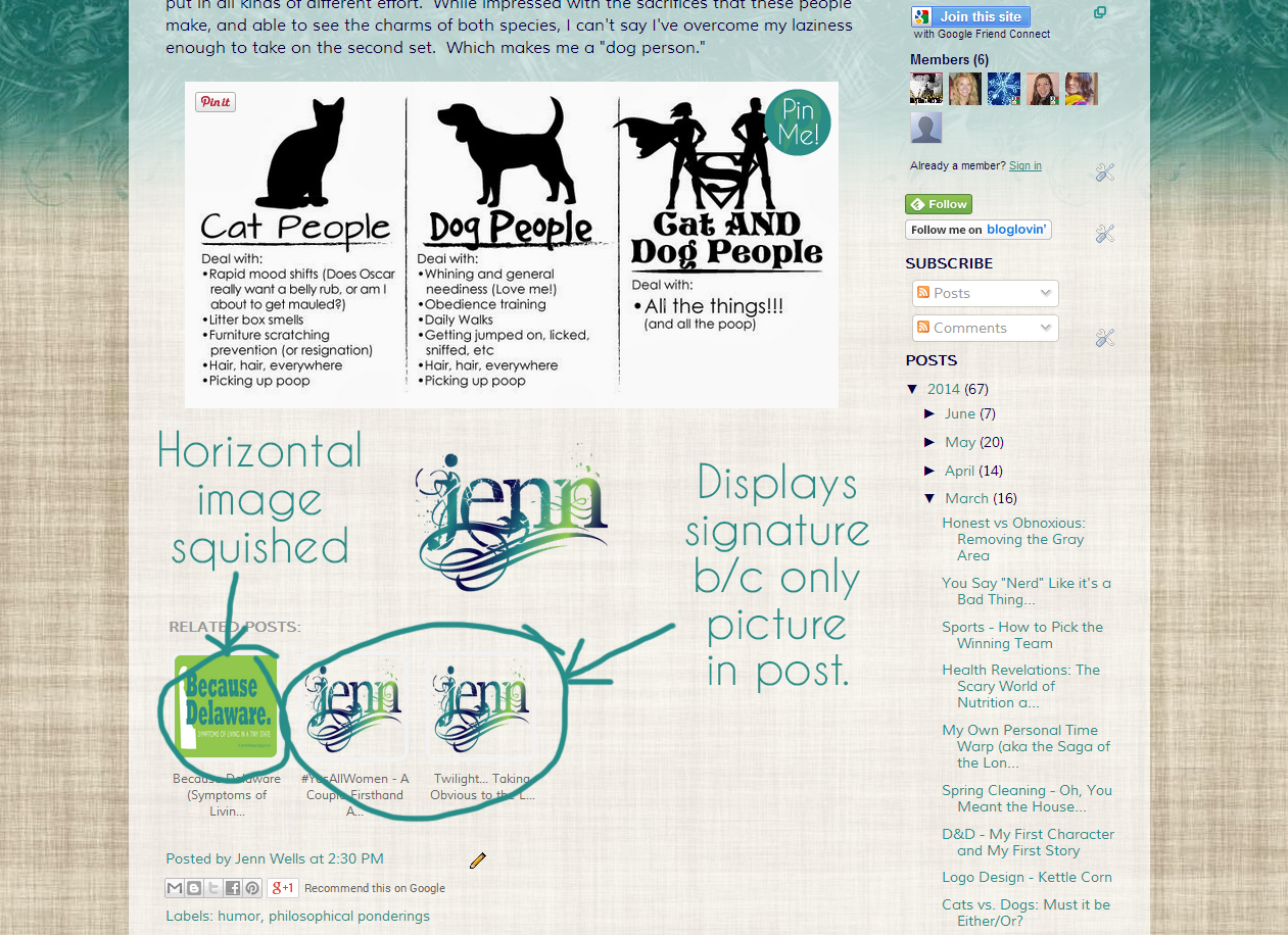 Related posts example layout | Business, Life & Design