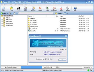 Software PowerISO 4.8 Full Version