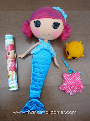 Lalaloopsy Coral Sea Shells review