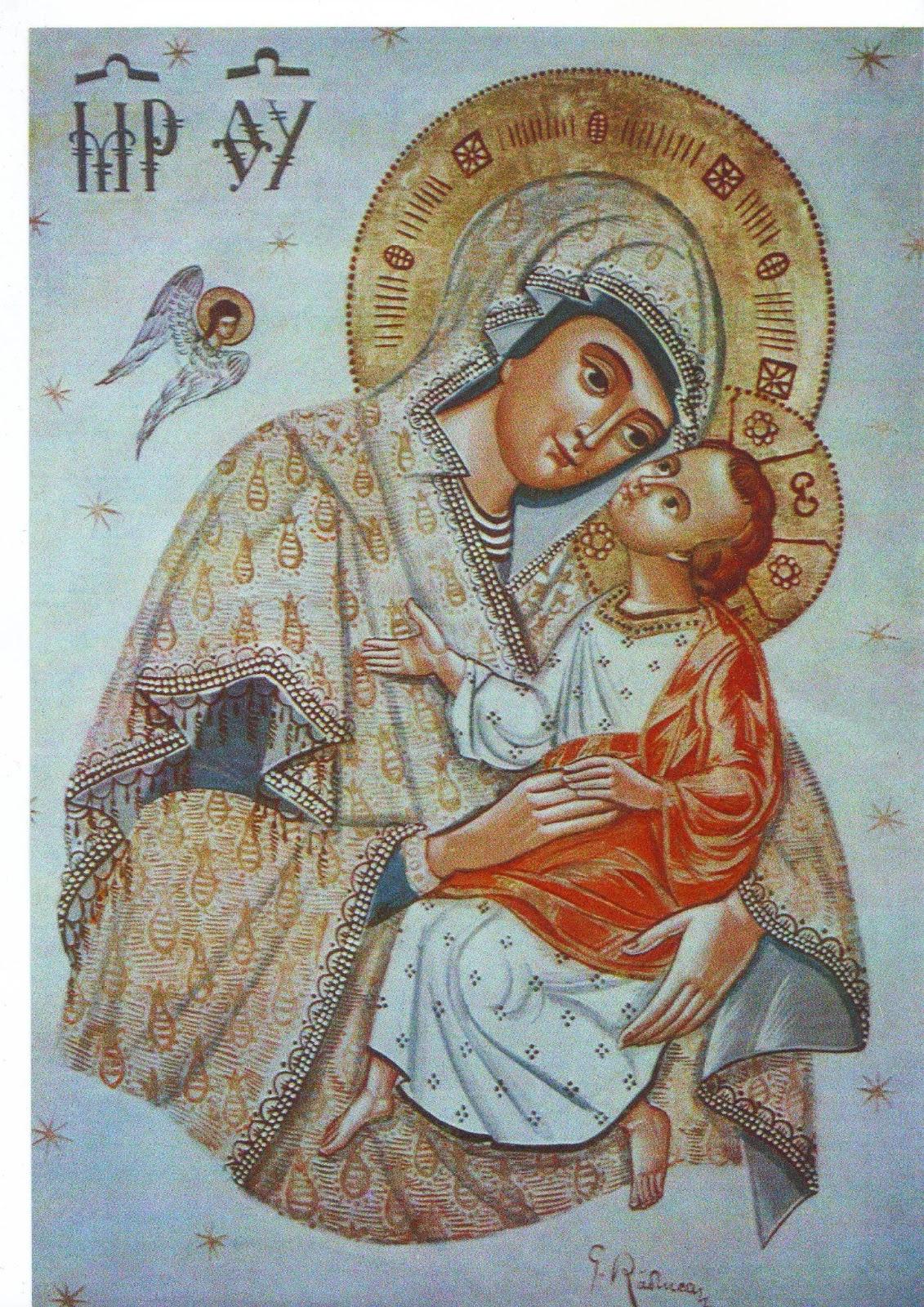 « la Sainte Vierge en 40 hypostases » (texte à lire) dans immagini sacre