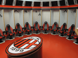 Football Manager Match Dressing Room