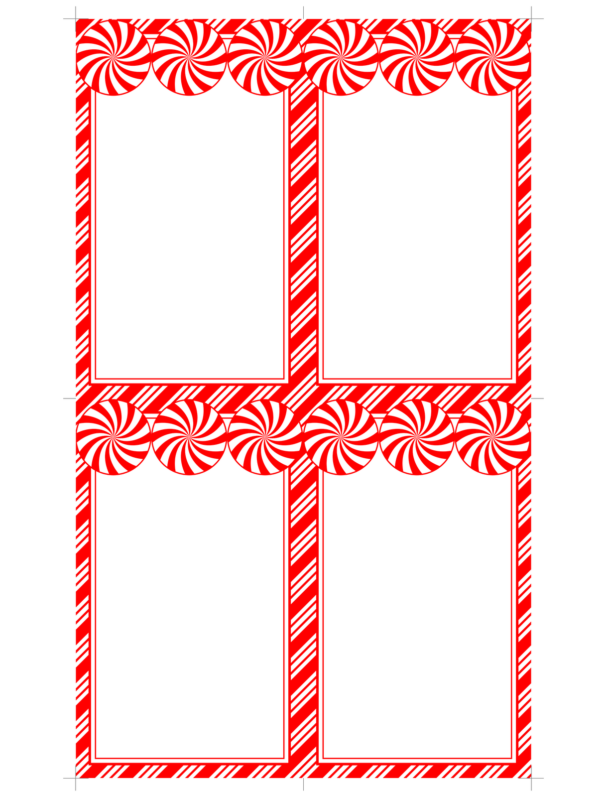 Modest image intended for free printable blank gift tags