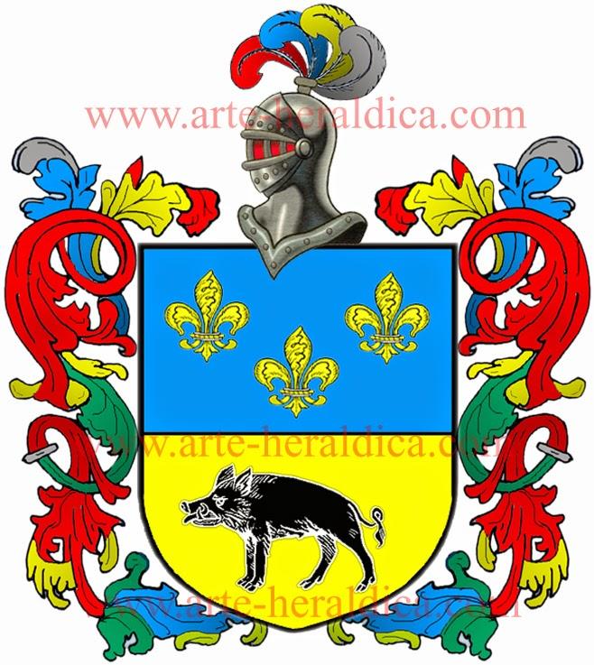 Todo de heráldica: Marcos escudo y origen del apellido