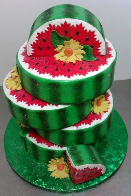 Birthday Cake Watermelon