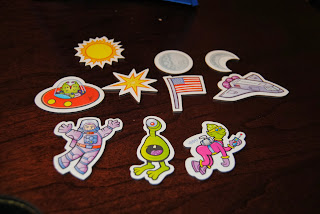 Punch out magnets