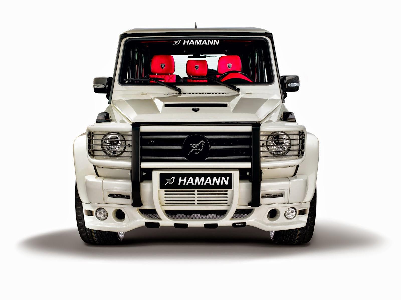 Hamann typhoon based on mercedes g55 amg benztuning for Mercedes benz hamann