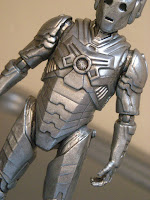 "Doctor Who Season 7 Cyberman Character Options Nightmare in Silver 3.75"" Scale"