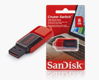 Pendrive SanDisk USB Switch o pojemności 8 GB  w Biedronce