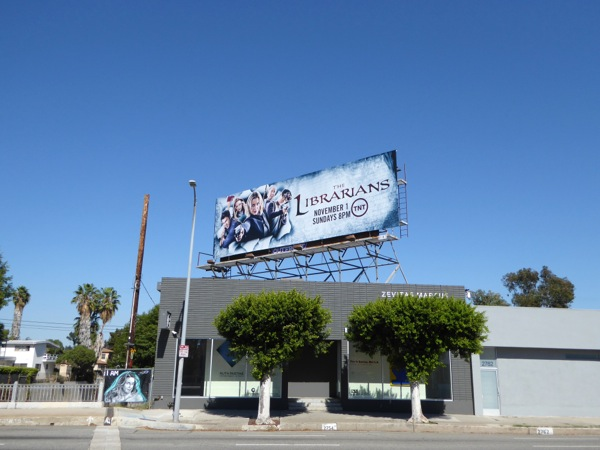 Librarians season 2 billboard