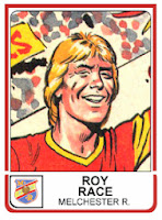 Panini 1983 Roy Race (Melchester Rovers)