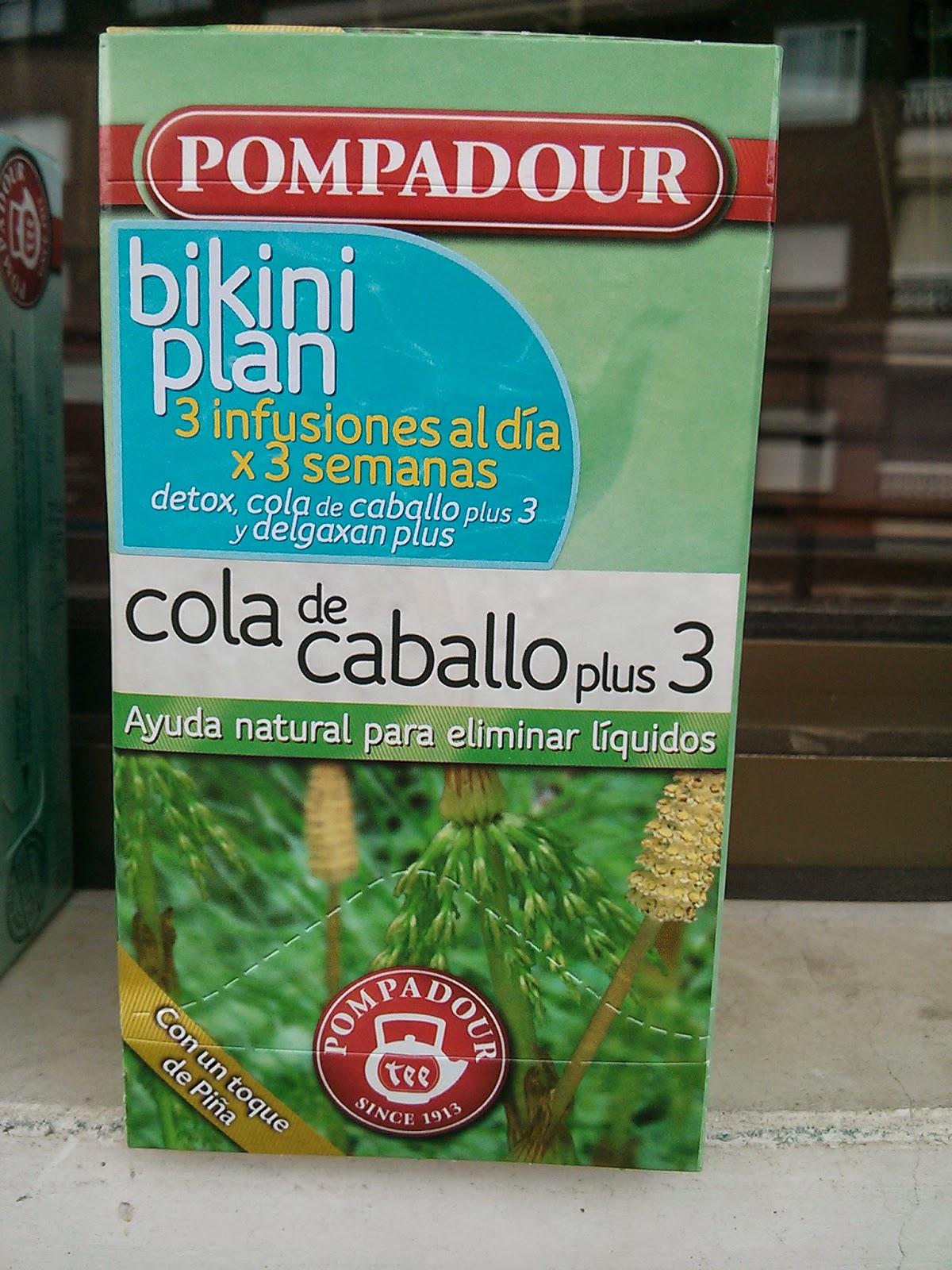 Cola de Caballo Plus 3 pompadour