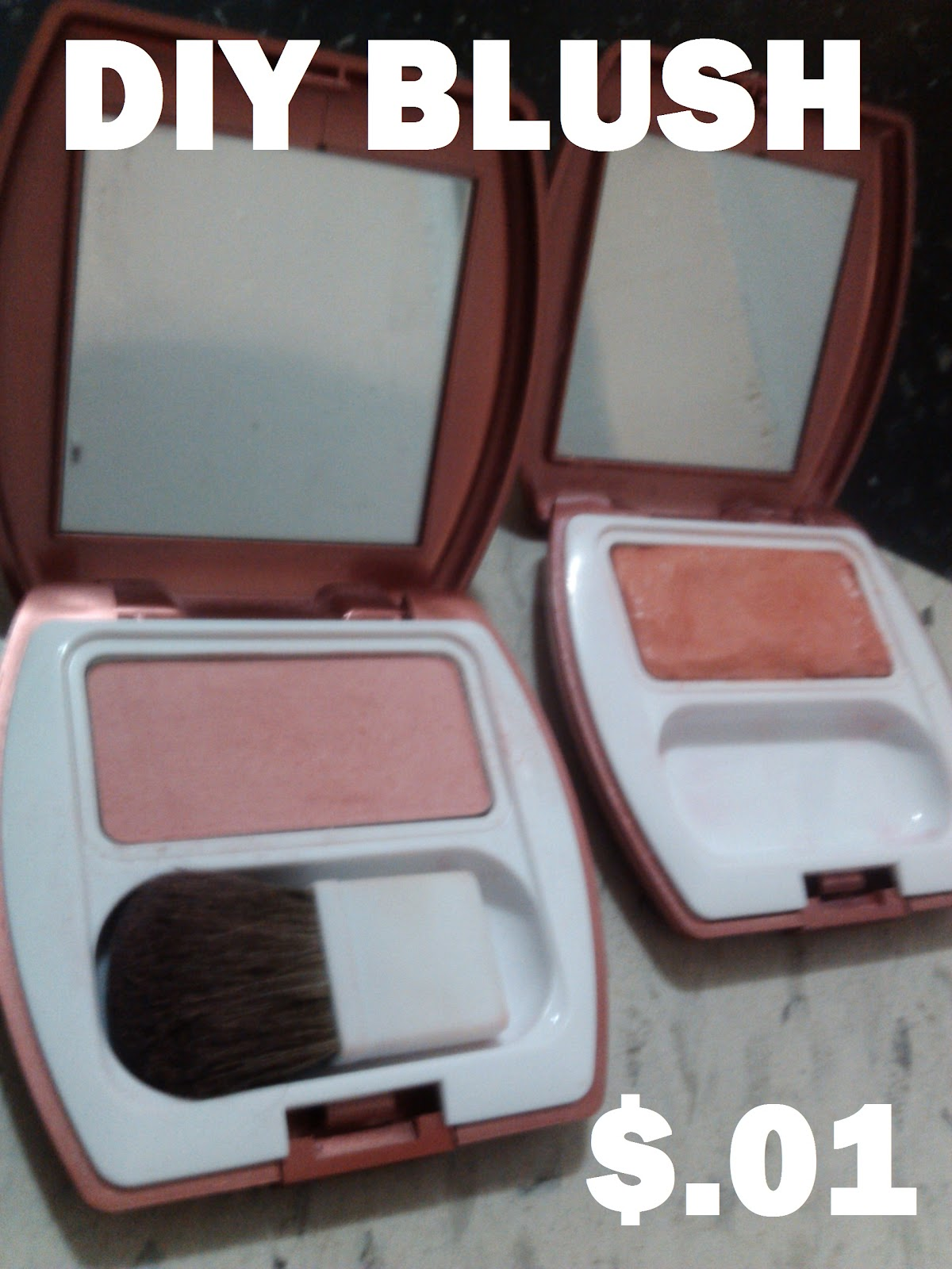 My American Confessions: Tuesday: How to.... DIY Blush