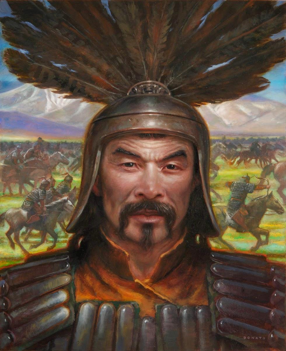 genghis khan military hero
