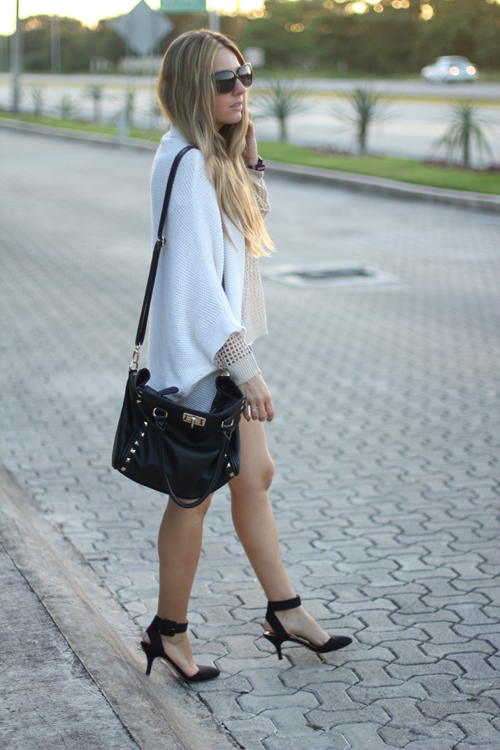 Layered look by fashion blogger Mónica Sors