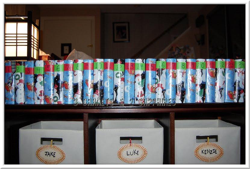 Diy Reusable Advent Calendar : Garnets sapphires how to make a diy reusable advent