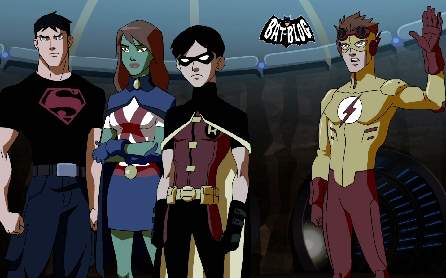 young justice cartoon network wallpaper