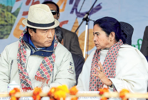 Morcha unsure to meet Mamata on her visit to Darjeeling in January 21 to 23