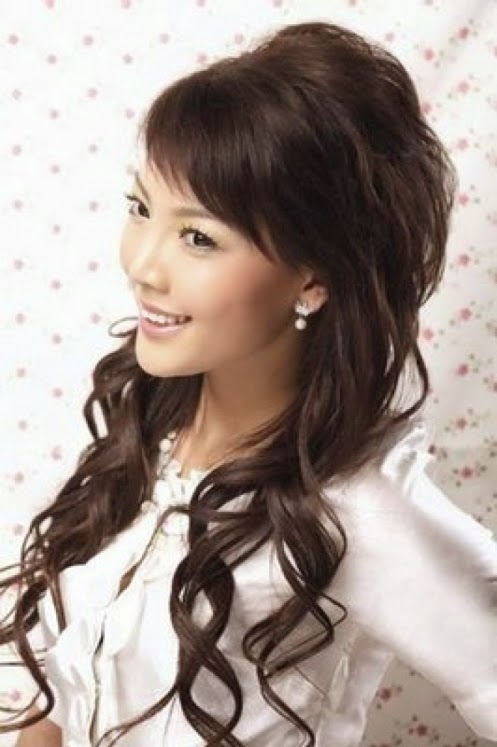 Cute hairstyles for long hairs - latest Cute hairstyles for long hairs