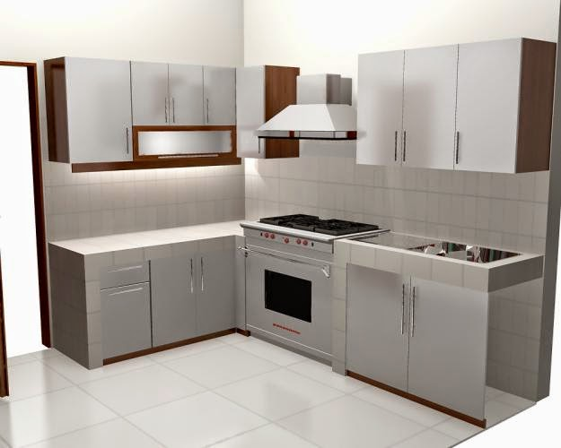 Grafis interior furniture decoration kitchen set for Kitchen set yang baik