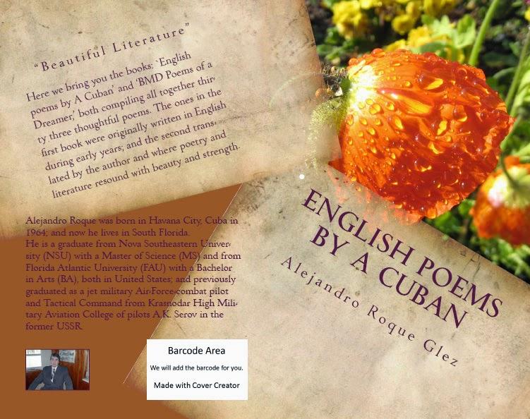 English poems by a Cuban at alejandroslibros.com