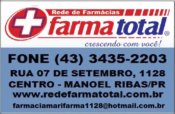 FARMATOTAL FONE (43) 3435-2203
